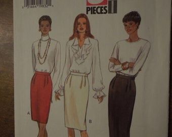 Butterick 3568, sizes 12-16, skirt, UNCUT sewing pattern, craft supplies, misses, womens