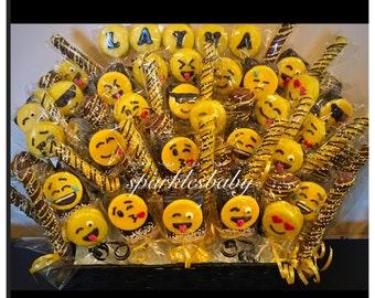 Emoji Chocolate Basket- COMMACK  pickup only