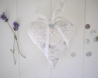 personalised grey wedding heart