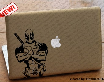 MAC Macbook Laptop Vinyl Decal Sticker Deadpool 2