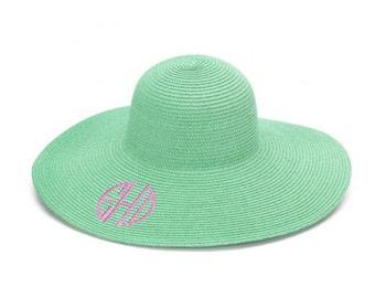 Monogram Floppy Sun Hat