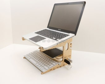 Laptop Organizer - Notebook Stand