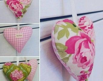 Tilda fabrics, cloth upholstery, hearts and Tanya Whelan