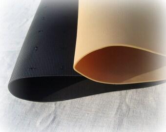 Handmade  rubber-cork soles