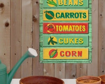 Farm Stand Vegetables Country Kitchen Sign 12 x 16 - #56362