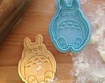 Totoro cookie cutter, My Neighbor Totoro cookie stamp.