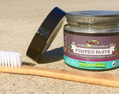 Remineralizing Toothpaste - Natural Whitening Paste Reverse Decay -  Fluoride Free - Glycerin Free - Polished Shine