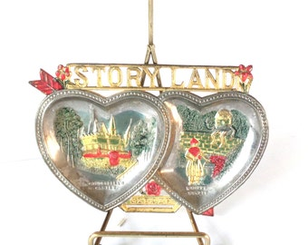 StoryLand Glen NH Souvenir, Trinket Dish, Travel Collectibles, NH Collectibles, New Hampshire Attractions, Story Land