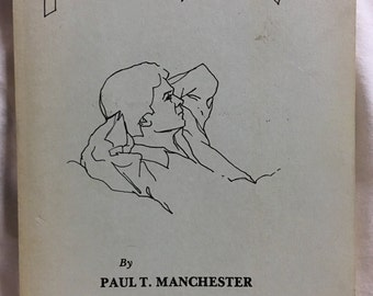 Rare Poetry Book, Autographed AND includes Long personal letter to former student, Philosophizing by Paul T. Manchester