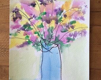 Original - Blue Vase - Spring Collection