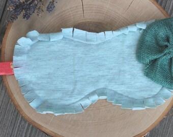 Light Blue Eye Mask- Gifts Under 20- Gifts for her- Eye mask- Travel- Blindfolds- Sleep Mask