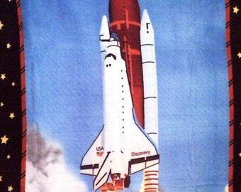 Space Shuttle Discovery Fleece Throw