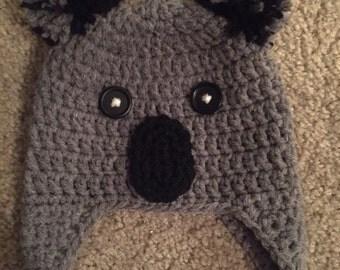 Koala Ear-Flap Beanie