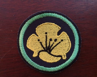 Buttercups 2.5in. Sofia the First Sew-on patch merit badge