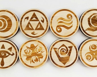 Zelda Coasters (Set of 8)