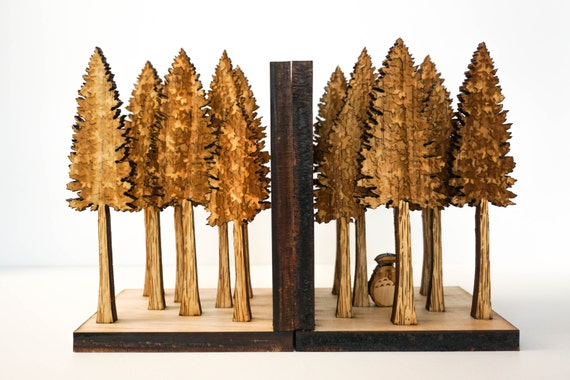 Forest Bookends, Jungle, Book Ends