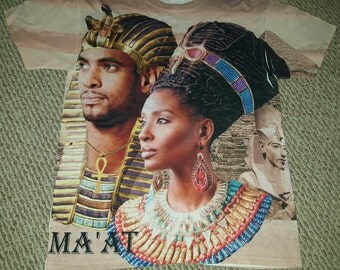 Pre-order Egyptian Ma'at Ankh Tee
