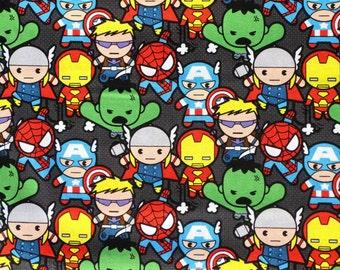 Handmade Superheroes Cartoon Baby Print Pillow