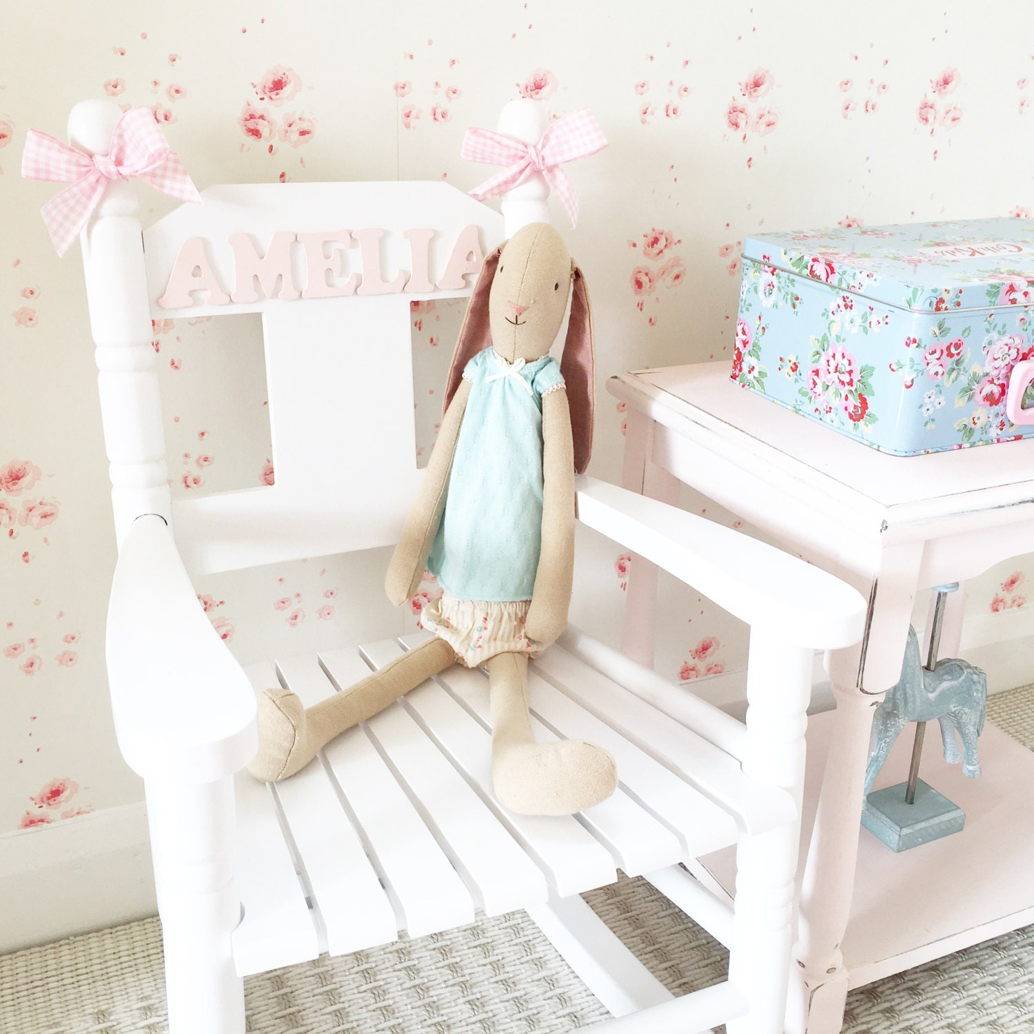 Child s Personalised Rocking Chair