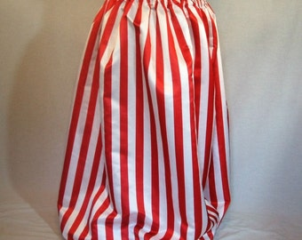Red and White Striped Pantaloons