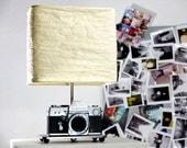Vintage Camera Lamp made with Pietri SLR - Vintage cameras - vintage lamp - deco