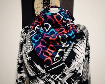 Geeky glasses snood/infinity scarf