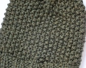 Lined Seedy Beanie in Camo Green