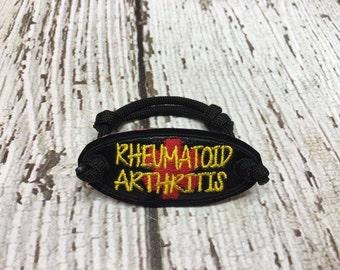 Rheumatoid Arthritis - Medical - ITH - Bracelet Tab - DIGITAL Embroidery DESIGN