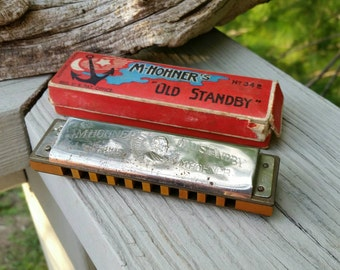 Hohner Marine Band Harmonica No. 1896 Made in Germany