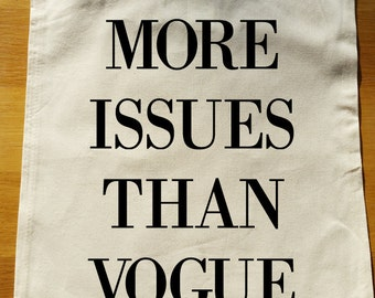 More issues than Vogue Tote Bag - can be fully personalised