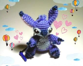 Stitch cell phone charm