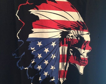 "Lost Cowboy ""Amerikan Chief""  T-shirt"