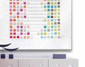 Color Chart Quilt Pattern - Zen Chic - Brigitte Heitland - Moda - CCQP