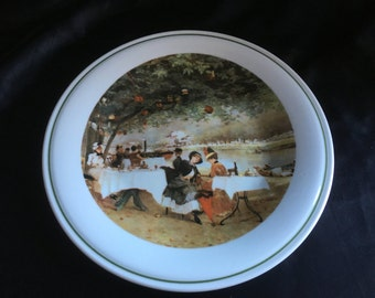 Richard Ginori Plate Vintage 1970s Made in Italy