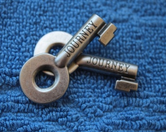 "Silver Toned Keys - ""Journey"""