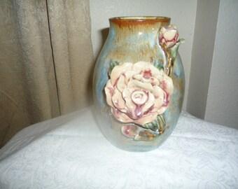 Rose Pottery Vase