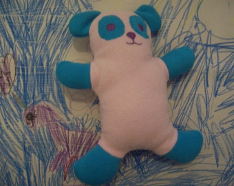 Lovey Panda (Pink and blue)