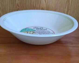 Large Salad Bowl, Mount Clemens Pottery, Chef's Salad