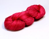 The Yearning--Bluefaced Leicester/Silk 4 ply fingering--Satine