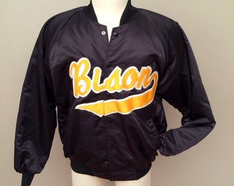 Vintage baseball jacket, varsity jacket
