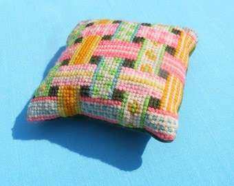Needlepoint Pincushion
