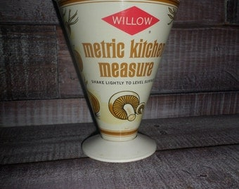 Vintage Willow Measuring Cup
