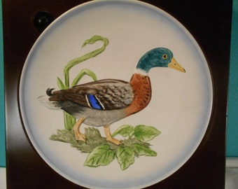 Mallard Duck Plate Made By Goebel, West Germany, 1979 Limited Edition