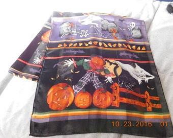 Vintage Halloween Scarf