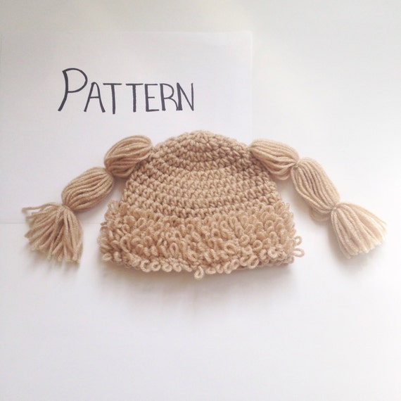 Free Crochet Pattern For Cabbage Patch Hat Traitoro For