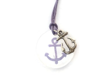 Chain anchor in Lilac