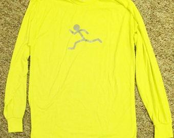Runner's Hi Vis Tee Long Sleeve
