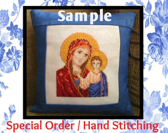 CUSTOM / SPECIAL ORDER Cross Stitch Design, Hand Stitching, Unique to You from Scotland