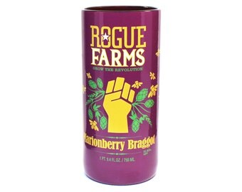 22 oz Rogue Marionberry Braggot Beer Bottle Pint Glass
