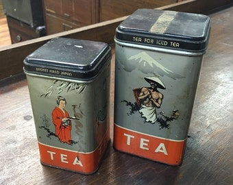 Tea Tins (set of 2)